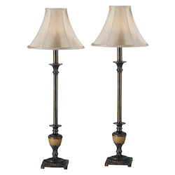 Kenroy Home 30944 Buffet Lamp 2-Pack
