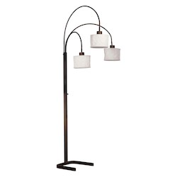 Kenroy Home 30674ORB 3 Light Arc Lamp