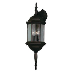 Kenroy Home 16267BL 3 Light Wall Lantern