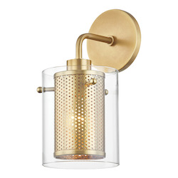 Mitzi H323101-AGB 1 Light Wall Sconce