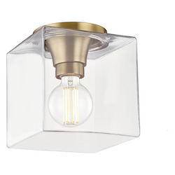 Mitzi H284501SQS-AGB 1 Light Flush Mount