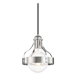 Mitzi H271701-PN 1 Light Pendant