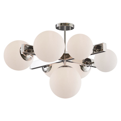 Artcraft SC13222PN Moonglow Sc13222Pn Semi-Flush Mount
