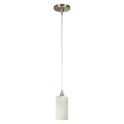 Craftmade PN902SY-PNK-W Mini Pendant With Hue Bulb