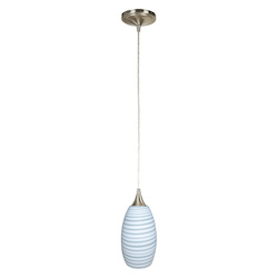 Craftmade PN336FL-PNK-WC Mini Pendant With Hue Bulb