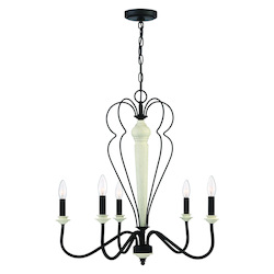 Craftmade 52525-CWESP 5 Light Chandelier