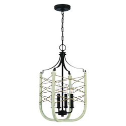 Craftmade 52334-CWESP 4 Light Foyer
