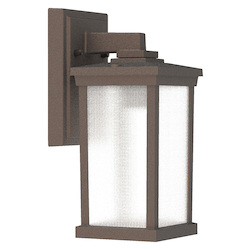 Craftmade ZA2404-BZ 1 Light Outdoor Wall Lantern