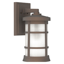 Craftmade ZA2314-BZ 1 Light Outdoor Wall Lantern