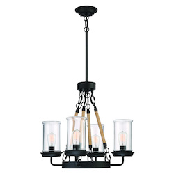 Craftmade 52024-ESP 4 Light Outdoor Chandelier