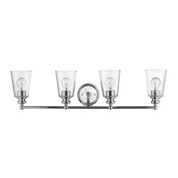 Acclaim Lighting IN41403CH Ceil 4-Light Chrome Vanity