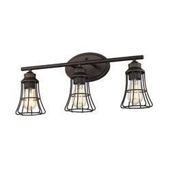 Acclaim Lighting IN41282ORB Piers 3-Light Oil-Rubbed Bronze Vanity