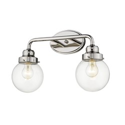 Acclaim Lighting IN41225PN Portsmith 2-Light Polished Nickel Vanity