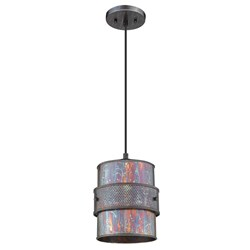 Acclaim Lighting IN31602BZP Ryker 1-Light Bronze Patina Pendant