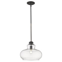 Acclaim Lighting IN21251ORB Torrel 1-Light Oil-Rubbed Bronze Pendant