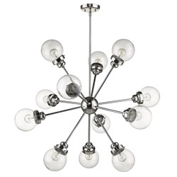 Acclaim Lighting IN21225PN Portsmith 12-Light Polished Nickel Chandelier