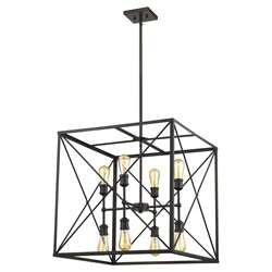 Acclaim Lighting IN21126ORB Brooklyn 8-Light Oil-Rubbed Bronze Pendant