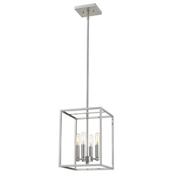 Acclaim Lighting IN21001SN Cobar 4-Light Satin Nickel Pendant