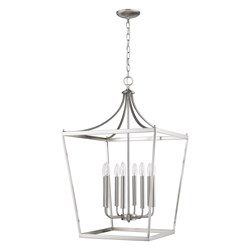 Acclaim Lighting IN11135SN Kennedy 8-Light Satin Nickel Chandelier