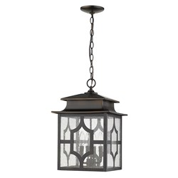 Acclaim Lighting 1776ORB Calvert 4-Light Oil-Rubbed Bronze Hanging Lantern