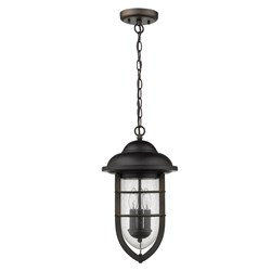 Acclaim Lighting 1716ORB Dylan 3-Light Oil-Rubbed Bronze Hanging Lantern