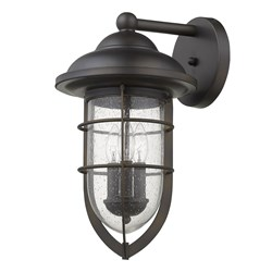 Acclaim Lighting 1712ORB Dylan 3-Light Oil-Rubbed Bronze Wall Light