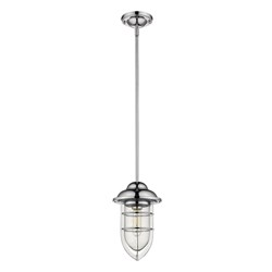 Acclaim Lighting 1706CH Dylan 1-Light Chrome Convertible Mini-Pendant