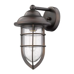 Acclaim Lighting 1702ORB Dylan 1-Light Oil-Rubbed Bronze Wall Light
