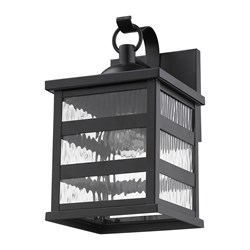 Acclaim Lighting 1682BK Morris 1-Light Matte Black Wall Light