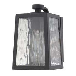 Acclaim Lighting 1602Bk Hirche 1-Light Matte Black Wall Light