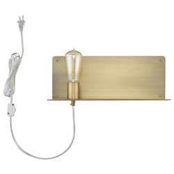 Trend Lighting TW40072AB Arris 1-Light Aged Brass Sconce