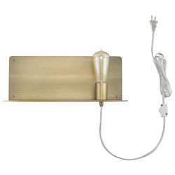 Trend Lighting TW40071AB Arris 1-Light Aged Brass Sconce