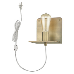 Trend Lighting TW40070AB Arris 1-Light Aged Brass Sconce