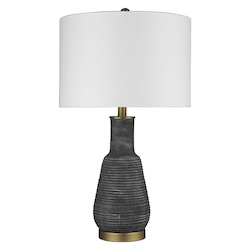 Trend Lighting TT80178 Trend Home 1-Light Brass Table Lamp