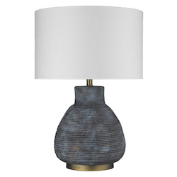 Trend Lighting TT80177 Trend Home 1-Light Brass Table Lamp