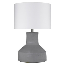 Trend Lighting TT80176 Trend Home 1-Light Polished Nickel Table Lamp