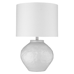 Trend Lighting TT80174 Trend Home 1-Light Polished Nickel Table Lamp