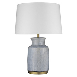 Trend Lighting TT80173 Trend Home 1-Light Brass Table Lamp