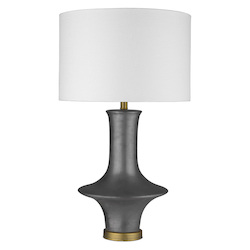 Trend Lighting TT80172 Trend Home 1-Light Brass Table Lamp