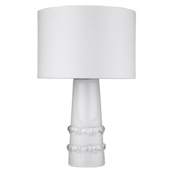 Trend Lighting TT80170WH Trend Home 1-Light White Table Lamp