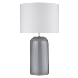 Trend Lighting TT80168 Trend Home 1-Light Polished Nickel Table Lamp