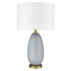 Trend Lighting TT80167 Trend Home 1-Light Brass Table Lamp