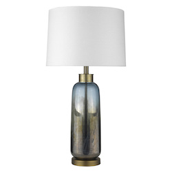 Trend Lighting TT80165 Trend Home 1-Light Brass Table Lamp