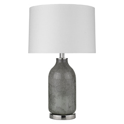 Trend Lighting TT80163 Trend Home 1-Light Polished Nickel Table Lamp