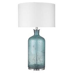 Trend Lighting TT80162 Trend Home 1-Light Polished Nickel Table Lamp