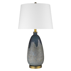 Trend Lighting TT80160 Trend Home 1-Light Brass Table Lamp