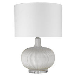 Trend Lighting TT80156 Trend Home 1-Light Polished Nickel Table Lamp