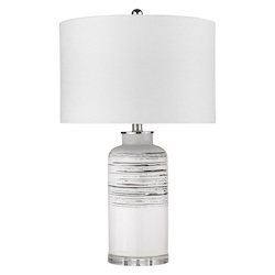 Trend Lighting TT80155 Trend Home 1-Light Polished Nickel Table Lamp