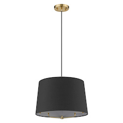Trend Lighting TP30030GD Lamia 1-Light Gold Mini Pendant