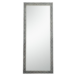 Elegant Decor MR53072 Rectangle Mirror 30 Inch In Chevron